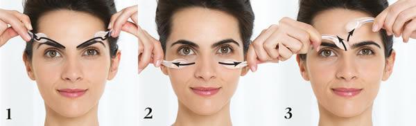2 herramientas de masaje multicorrectivas se incluyen para cada contorno de ojos